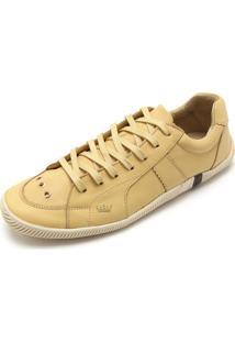 Tênis Couro Osklen Básico Amarelo