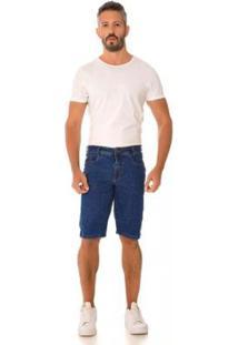 Bermuda Jeans Express Bruno Masculina - Masculino-Azul