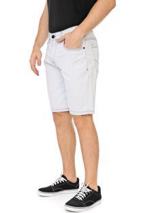 Bermuda Jeans Hurley Reta Lisa Azul