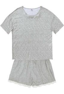 Pijama Hering 7Byc 1B-Mescla-