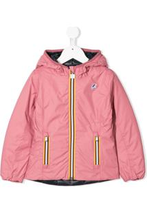 K Way Kids Lily Thermo Jacket - Rosa