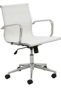 Cadeira De Escritório Diretor Sevilha Branco