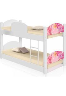 Beliche Infantil Carruagem Castelo Casah - Branco/Rosa - Menina - Dafiti