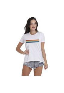 Camiseta Jay Jay Basica We Surf Everyday Branca Dtg