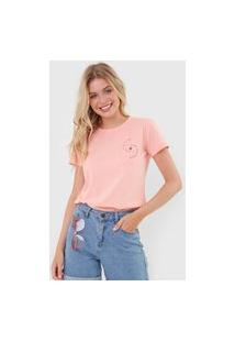 Camiseta Hang Loose Salt Water Rosa