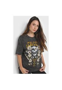 Camiseta Colcci Rare Spirit Grafite