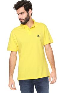 9a5585630b Camisa Polo Timberland Reta Basic Amarela