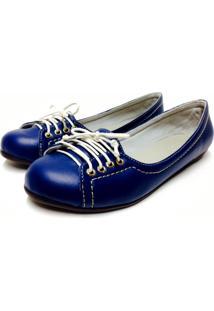 Sapatilha Buffone Comfort Azul Marinho