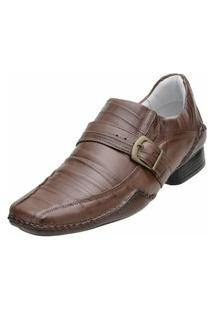 Sapato Social Alcalay Havana Marrom
