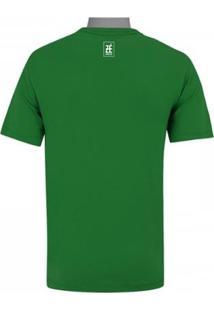 Camiseta Zé Carretilha Palmeiras Jardim Suspenso - Verde - Gg - Unissex