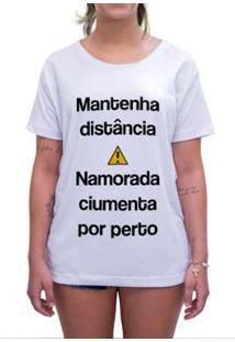 Camiseta Impermanence Estampada Crush Feminina - Feminino-Branco