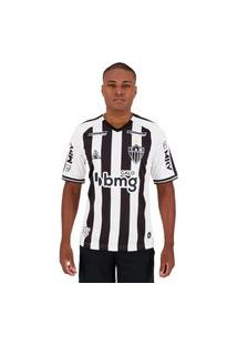 Camisa Le Coq Sportif Atlético Mineiro I 2020 Masculina - Preto E Branco