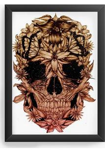 Quadro Decorativo Skull Beautiful