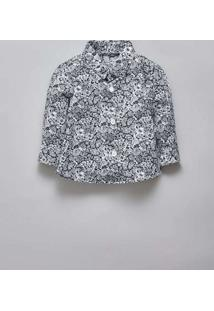 Camisa Bb Pf Liberty Luna Reserva Mini Branco