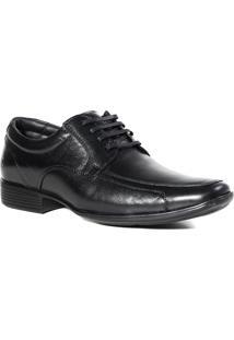 Sapato Masculino Social All Black Pipper Em Couro