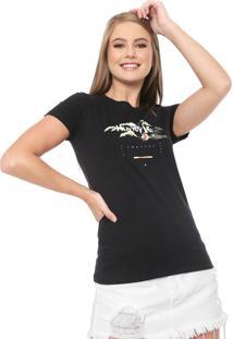 Camiseta Hurley Only The Islands Preta