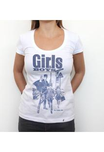 Girls & Boys - Camiseta Clássica Feminina