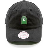 Boné Mitchell   Ness Small Jers Dad Hat Nba Boston Celtics Strapback 5b3d9dc8f86