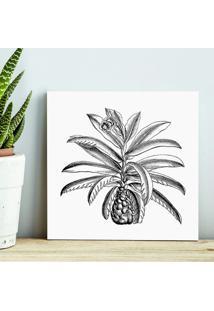 Quadro - Tropical Plant P&B