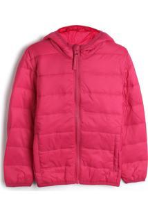 Casaco Malwee Kids Infantil Liso Pink - Tricae