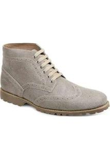 Bota Dress Boot Masculina Sandro Moscoloni Usa Bege Bege