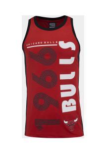 Camiseta Regata Nba Chicago Bulls 24223 - Masculina - Vermelho