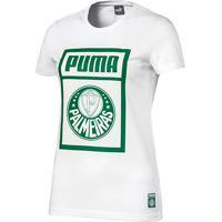 Camiseta Palmeiras Puma Graphic Feminina - Feminino cd073471c3ae9