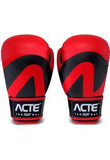 6b979e72c Luvas De Boxe Vermelho 10Oz P2 Acte Sports