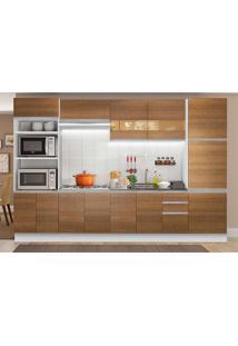 Cozinha Compacta Glamy 14 Pt 3 Gv Branca E Rustic