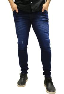 Calça Jeans Elite Lux Skinny Azul