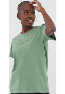 Camiseta Colcci Equilíbrio Verde - Kanui