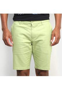 Bermuda Linho Colcci Masculina - Masculino