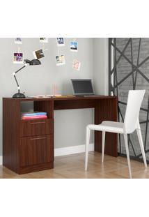 Escrivaninha Office Bc 64 Castanho/Velasquez - Brv Móveis