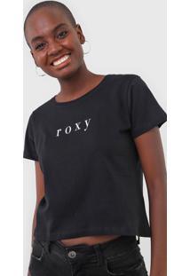 Camiseta Roxy Baschique Preta