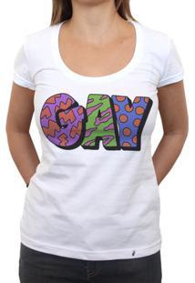 Gay - Camiseta Clássica Feminina