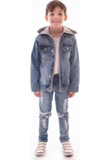 Jaqueta Mrx Jeans Inverno Azul