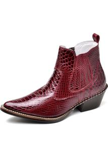 Bota Top Franca Shoes Country Rubi