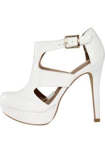 Sandal Boot Week Shoes Iguana Branco