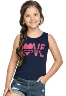 Regata Para Menina Azul Mineral Kids infantil  5fc1a95742e