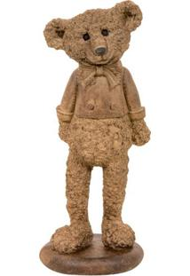 Escultura Decorativa De Urso Ben