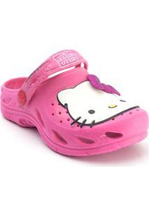 Babuche Infantil Plugt Hello Kitty - Feminino-Pink