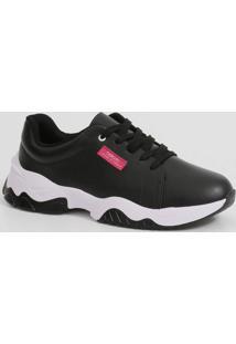 Tênis Feminino Chunky Sneaker Bicolor Beira Rio