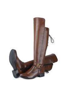 Bota Montaria Sw Shoes Cano Alto Cappuccino