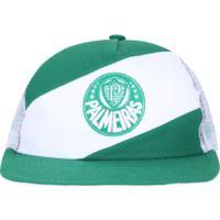Boné Aba Reta Do Palmeiras New Era 950 - Snapback - Trucker - Adulto - Verde 45a3f607756db