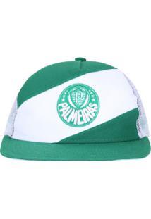 Boné Aba Reta Do Palmeiras New Era 950 - Snapback - Trucker - Adulto - Verde 524aa17c764