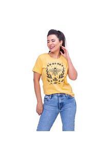 T-Shirt Beez Amarelo