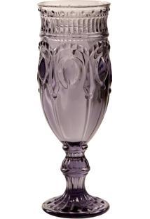 Taça De Vidro 200 Ml Jewelry Lilás