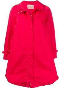 Twin-Set Trench Coat - Vermelho