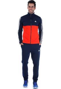Agasalho Masculino Adidas Back2Bas 3S - Marinho