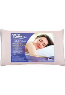 Travesseiro Percal 100% Algodão Bello Sonho - Master Comfort - Branco
